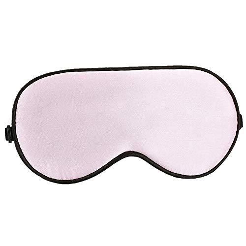 CBValleyol Schlafmaske, verstellbare natürliche Seide, Schlafmaske, Ultra-weiche Augenmaske, lichtblockierend, komfortable Schlafmaske für Schlafenszeit und Reisen Rose