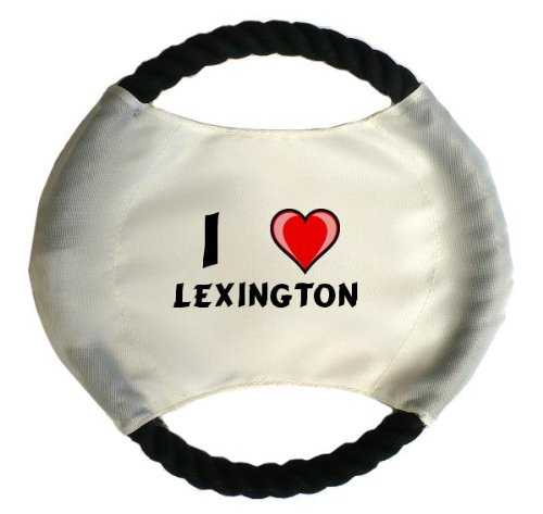 personalised-dog-frisbee-with-name-lexington-first-name-surname-nickname