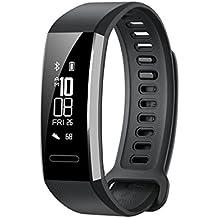 Huawei Band 2 Pro All-in-One Activity Tracker Smart Fitness Wristband | GPS | Multi-Sport Mode| Heart Rate | Sleep Monitor | 5ATM Waterproof, Blue (US Warranty)