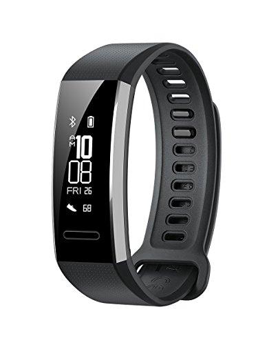 Huawei Band 2 Pro All-in-One Activity Tracker Smart Fitness Armband | GPS |  Multisport Mode| Herzfrequenz | Sleep Monitor | 5 ATM wasserdicht (US