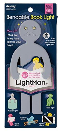 LigntMan LTM160N LED-Lichter, biegbar, Grau