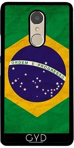 Hülle für Lenovo K6 Note - Brasilien Rio Flagge Brasilianisches by WonderfulDreamPicture