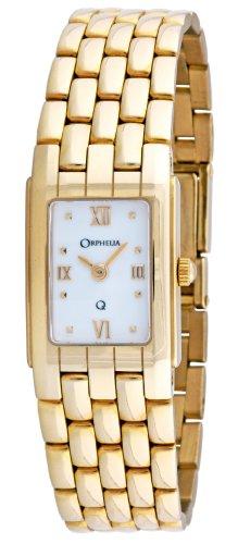 Orphelia Mon-7028 - Reloj de cuarzo para mujeres, color dorado