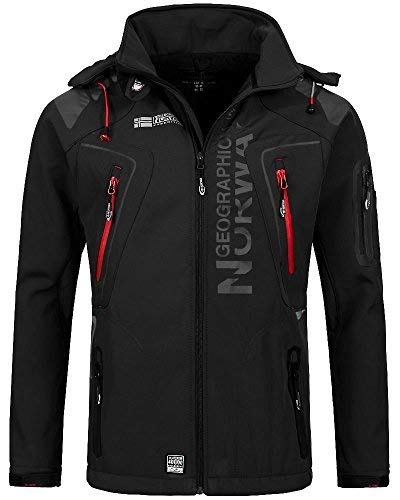 Geographical Norway - Chaqueta - para Hombre Negro Large