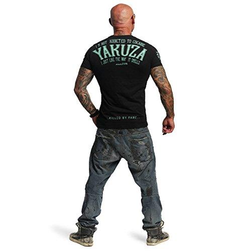 Yakuza Original Herren Addicted T-Shirt Schwarz