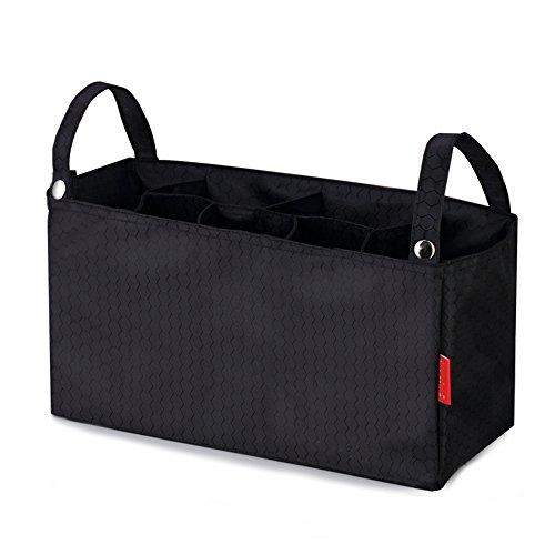 Tofern Wickelhenkeltaschen Wickelumhängetaschen Auskleidungsbeutel für Kinderwagen, Gelbrot Schwarz