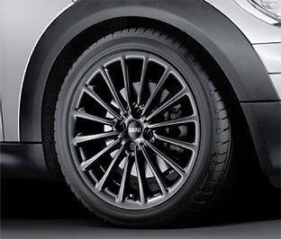 MINI multi_spoke R108-17-Set completo di ruote 36112153734 Runflat - Multi Spoke Wheel