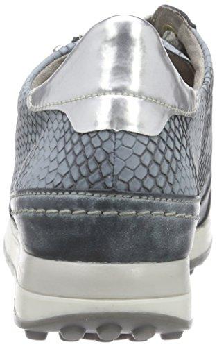 Remonte Dorndorf - d1800, Scarpe da ginnastica Donna Blu (Blau (royal/argento/denim / 14))