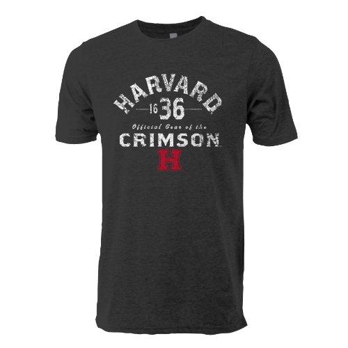Crimson Pullover Hoody (Ouray Sportswear NCAA Harvard Crimson Tri Bend kurz Seeve Tee, Arge, Vintage Rückseite, Herren, 20088-Harvard Crimson-X-Large, Vintage Black, XL)