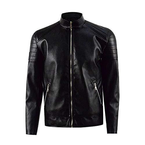 Pennyworth Kostüm Alfred - Zhangjianwangluokeji James Gordon Black Jacket Cosplay Kostüm (L, Stil 1)