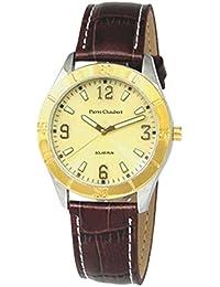 Pierre pantalones Bert hombre-reloj analógico de cuarzo cuero SLAL34V2SV01