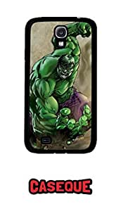Caseque Incredible Hulk Back Shell Case Cover For Samsung Galaxy S4