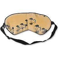 Schlafmaske/Augenmaske mit Flamingo-Motiv preisvergleich bei billige-tabletten.eu