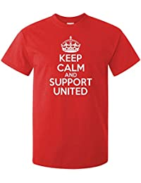 Keep Calm And Support United ADULTS T Shirt