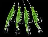 Makrelen-Shrimp Vorfach Grün / 7708304 / auch für Hering