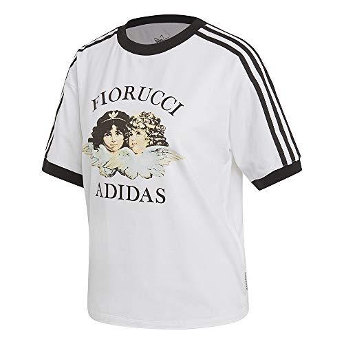 ADIDAS BY FIORUCCI ED8775 T-Shirt Donna Bianco 40