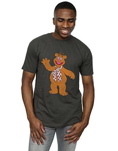 Muppets Herren Classic Fozzy T-Shirt Licht Graphite