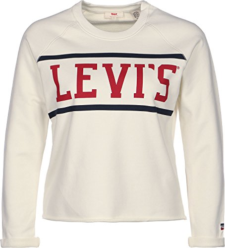 "Levi's® Damen Sweatshirt ""Unambiguous Gym Fleece"" offwhite (20) L"