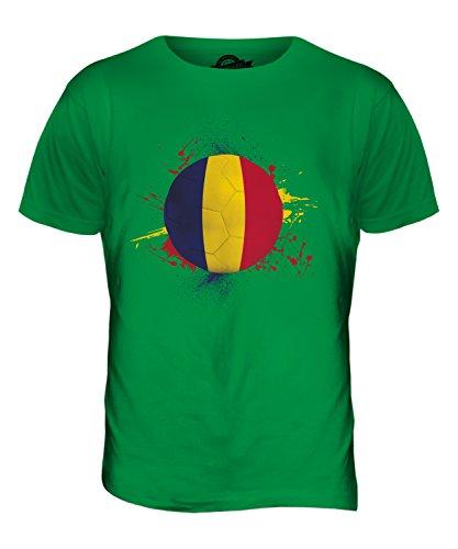 CandyMix Chad Calcio T-Shirt da Uomo Maglietta Verde
