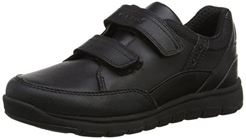 Geox Jungen J Xunday Boy B Sneaker, Schwarz (Black), 37 EU Boys-school-sneakers