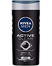 NIVEA Shower Gel, Active Clean Body Wash