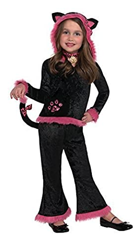 Christy's Girls Kuddly Kitty Costume (4-6 Years) by Amscan (Kuddly Kitty Kostüm)