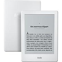 """Kindle Reconditionné Certifié, écran tactile 6"""" (15,2 cm) antireflet, Wi-Fi (Blanc) - Avec Offres spéciales"""