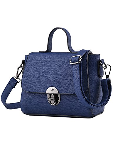Menschwear Damen PU Handtaschen Damen Handtasche Schwarz Handtasche Schule Damen Handtaschen Rosa Blau