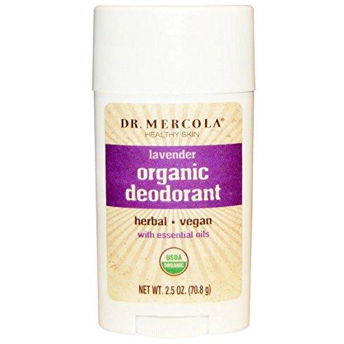 Déodorant Bio, Lavande, à 2,5 oz (70,8 g) - Dr. Mercola