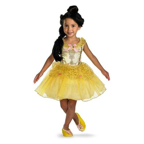 Disguise 177550 Sch-ne und das Biest Belle Ballerina Kleinkind-Kind-Kost-m Gr--e: Klein (4-6X) (Kleinkind Belle Ballerina Kostüm)