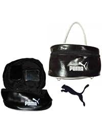 Puma Damen /Kosmetiktasche/Handtasche/Ladies Case Black White