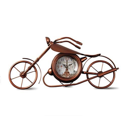 Sairis Montre de v/élo /étanche Universelle Grandir en Horloge Sombre Moto Alliage daluminium Alliage Cadran Mini pour Montage Guidon de v/élo Argent