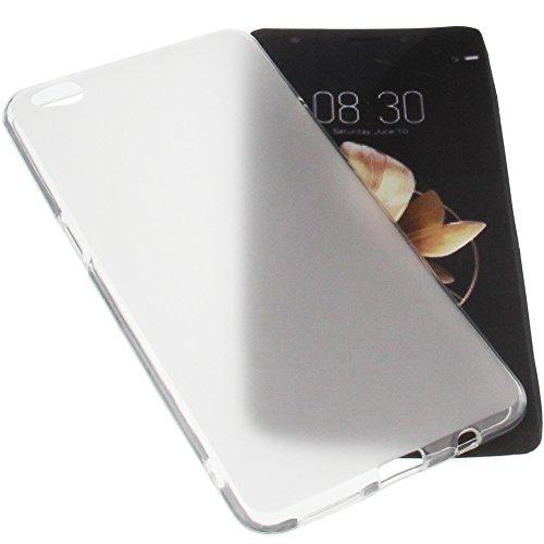 foto-kontor Tasche für Archos Diamond Gamma Gummi TPU Schutz Handytasche transparent weiß