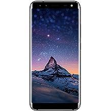 "Leagoo S8 - 5,7"" 4G FDD-LTE Smartphone, Pantalla Infinita, Android 7.0 Octa Core 3GB+32GB, Cámara Trasera 13MP+2MP, Delantera 8MP+2MP, Sensor de Huella Dactilar, Doble SIM Teléfono Móvil"