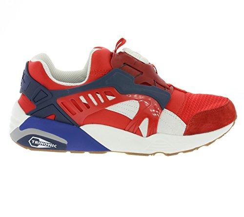 Puma - Disc Blaze Athl - Sneakers Man High risk red-star white