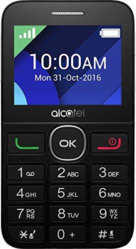 Alcatel 2008G-3AALDE1- Smartphone (pantalla de 6,1cm/2,4pulgadas), 16GB de memoria), color negro/blanco