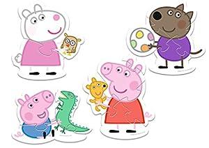 TREFL-Puzzle Baby bajo Licencia Peppa Pig 2-3-4-5Piezas, 36061u