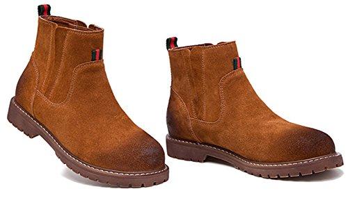 Fangsto  Boots, Bottes Chelsea fille femme Camel