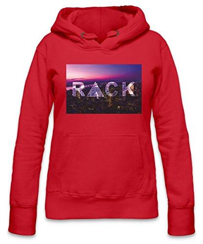 Rack City Womens Hoodie X-Large Chris Beanie Wells