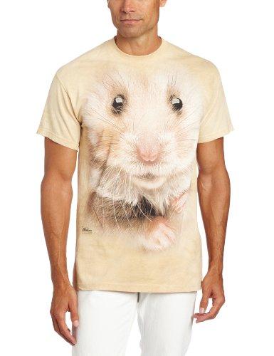 Hamster face Erwachsenen T-Shirt in Größe M (Hamster T-shirt)