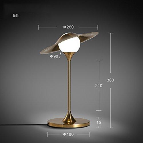 Schlafzimmer Tischlampe Lampe Nordic kreative Lampe moderne Persönlichkeit zu Hause Design Schlafzimmer Nachttisch Minitischlampe LED-Lampe