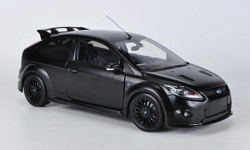 ford-focus-rs-500-matt-schwarz-2010-modellauto-fertigmodell-minichamps-118