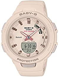 Casio Analog-Digital Beige Dial Women's Watch-BSA-B100-4A1DR (BX147)