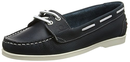 Chatham Rosanna Women's Loafers - Blue (Navy), 5 UK (38 EU) (Marine-blau-leder-loafer)