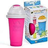 AioTio Slushy Maker Silicone Cup,Quick Frozen Smoothies Slushy Ice Cream Maker Smoothie Pinch Ice Cup