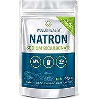 Polvo de Soda Bicarbonato de Sodio Alimentario - Calidad de los alimentos 1.000g (1.000g)