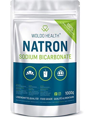 Bicarbonate of soda for cleaning and kitchen - 1 000g food grade