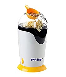 Euroline EL205PCMAKER 300 W PopCorn Maker (White)