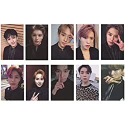 Christ For Givek Kpop NCT EMPATHY Lomo Cards NCT127 NCT Dream Photocard Sticker Cards Set for NCT Fans, color H-10pcs-1