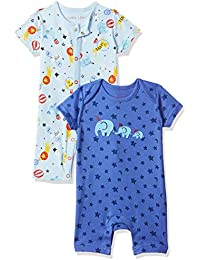 Mothercare Baby Boy's Romper Suits (Pack of 2)